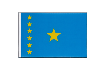 Little Flag Democratic Republic of the Congo old - 6x9""