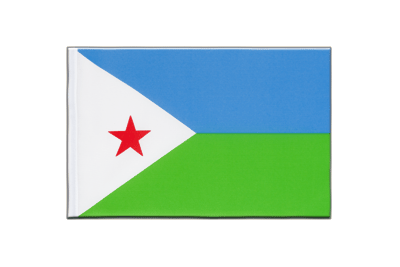 Little Flag Djibouti - 6x9""