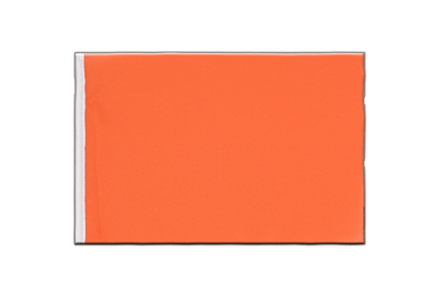Fanion drapeau Orange 15x22 cm