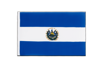 Little Flag El Salvador - 6x9""