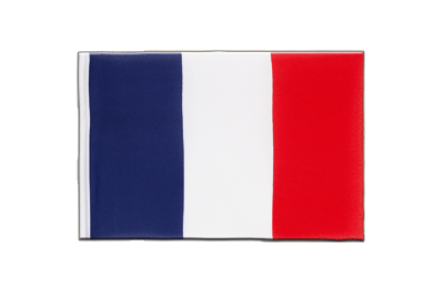 Fanion drapeau France 15x22 cm