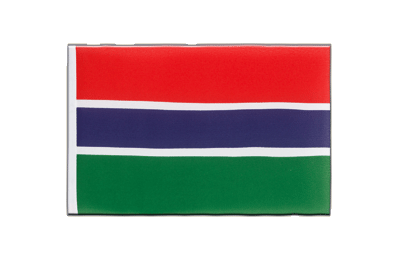 Little Flag Gambia - 6x9""