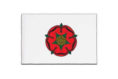 Little Flag Lancashire red rose - 6x9""
