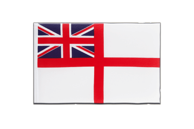 Fanion drapeau Royaume-Uni Naval Ensign of the White Squadron 15x22 cm