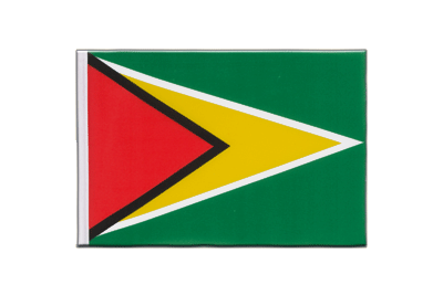 Little Flag Guyana - 6x9""