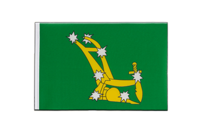 Little Flag Starry Plough green 1916-1934 - 6x9""