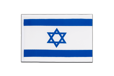 Little Flag Israel - 6x9""