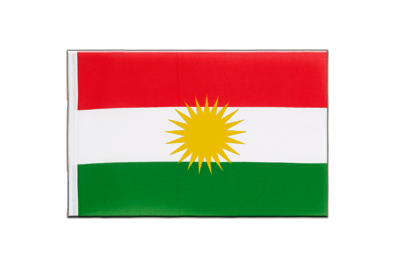 Little Flag Kurdistan - 6x9""