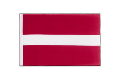 Little Flag Latvia - 6x9""
