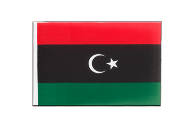 Little Flag Kingdom of Libya 1951-1969 Opposition Flag Anti-Gaddafi Forces - 6x9""