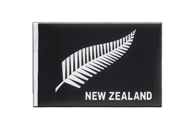 Little Flag New Zealand feather all blacks - 6x9""