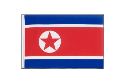 Little Flag North corea - 6x9""