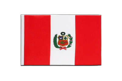 Little Flag Peru - 6x9""