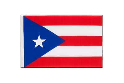 Little Flag Puerto Rico - 6x9""