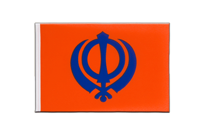 Little Sikhism Flag 6x9""
