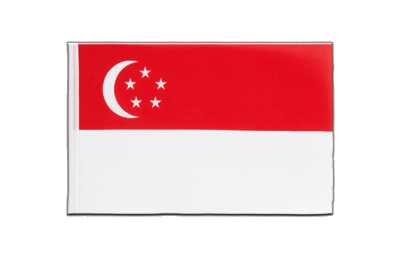 Little Flag Singapore - 6x9""