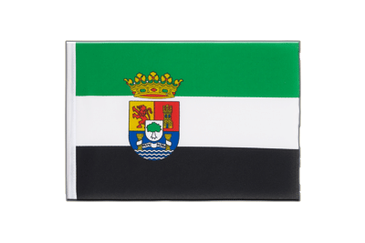 Little Flag Extremadura - 6x9""