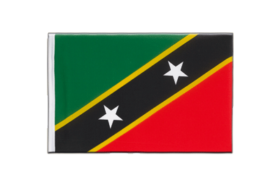 Little Flag Saint Kitts and Nevis - 6x9""
