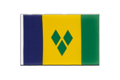 Little Flag Saint Vincent and the Grenadines - 6x9""