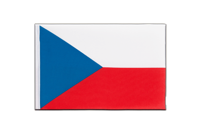 Little Flag Czech Republic - 6x9""