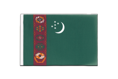 Little Flag Turkmenistan - 6x9""