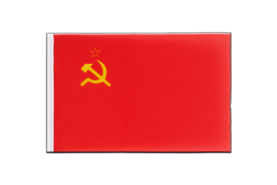 Little Flag USSR Soviet Union - 6x9""