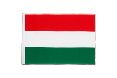 Little Flag Hungary - 6x9""