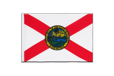 Little Flag Florida - 6x9""