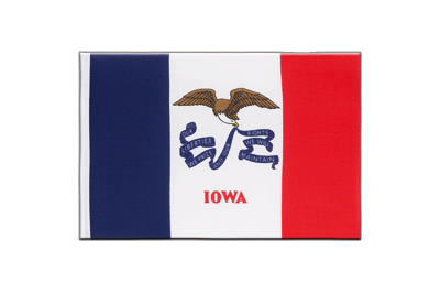 Iowa Mini Flag - 6x9""