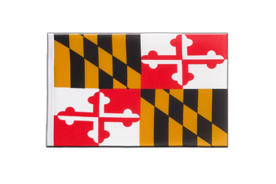 Little Flag Maryland - 6x9""