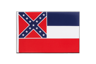Little Flag Mississippi - 6x9""