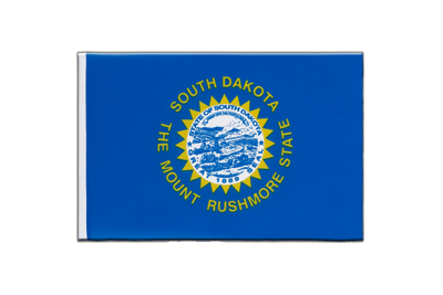 Little Flag South Dakota - 6x9""