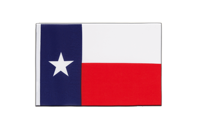 Little Flag Texas - 6x9""