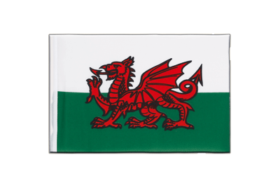 Little Flag Wales - 6x9""