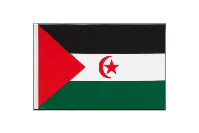 Little Flag Western Sahara - 6x9""
