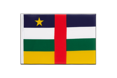 Little Flag Central African Republic - 6x9""
