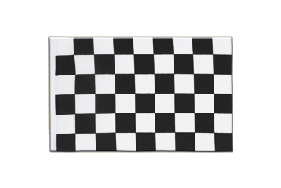 Little Flag Checkered - 6x9""