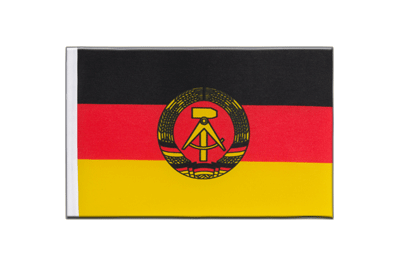 Satin Flag GDR - 6x9""