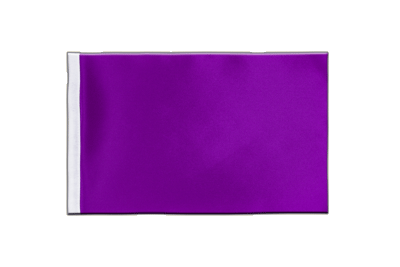 Satin Flag Purple - 6x9""
