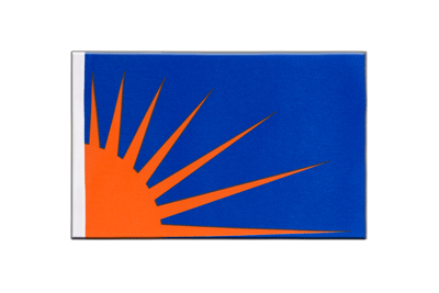 Satin Flag Sunburst - 6x9""