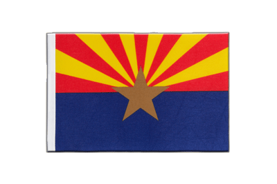Satin Flag Arizona - 6x9""