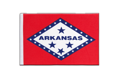 Satin Flag Arkansas - 6x9""