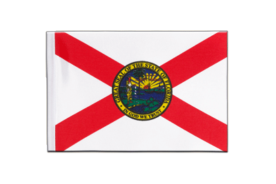 Satin Flag Florida - 6x9""