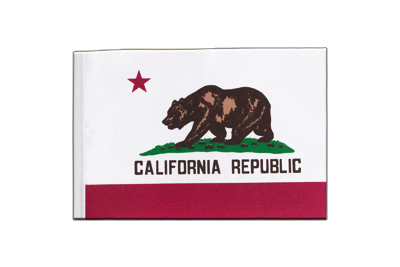 Satin Flag California - 6x9""