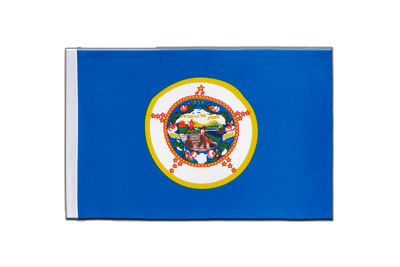 Satin Flag Minnesota - 6x9""