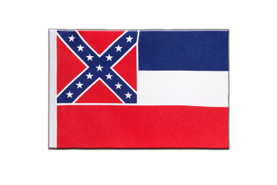 Satin Flag Mississippi - 6x9""