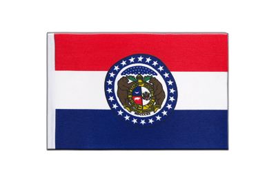 Satin Flag Missouri - 6x9""