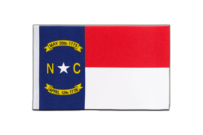 Satin Flag North Carolina - 6x9""