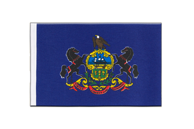 Satin Flag Pennsylvania - 6x9""
