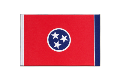 Tennessee - Satin Flagge 15 x 22 cm